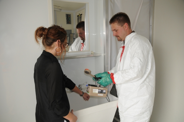 Pantex Decontamination Trailer
