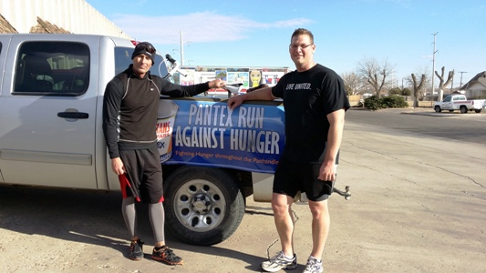 Pantexans Run Against Hunger